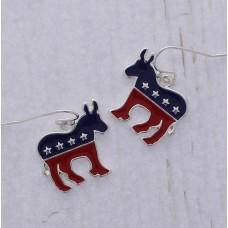Democratic Party Donkey Earrings
