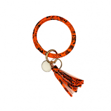 Key Ring Bracelet - Snake Orange