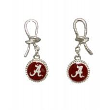 Officially Licensed Alabama Enamel Drop Earrings