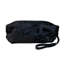 Black Velvet Cosmetic Bag