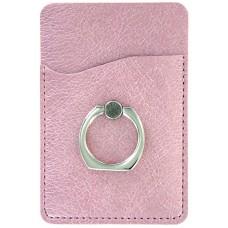 Metallic Cling Ring Holder - Pink