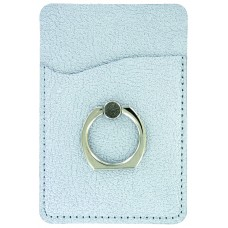 Metallic Cling Ring Holder - Silver