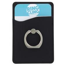 Card Cling Ring Holder - Black