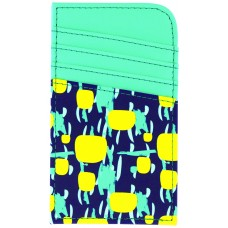 Scan Safe® Card Case - Yellow Dots