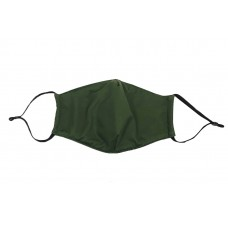 Adult Cloth Reusable Mask - Solid Green