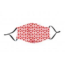 Adult Cloth Reusable Masks - Ho Ho Ho