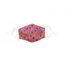 Children's Cloth Reusable Mask - Pineapple