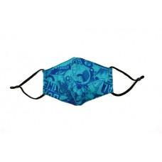 Children's Cloth Reusable Mask - Urban Blue