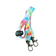 Children's Mask Lanyard - Pastel Tie Dye