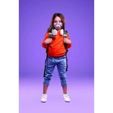 Children's Cloth Reusable Mask - Pastel Tie Dye