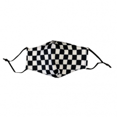 Children's Cloth Reusable Mask - Racing Flag