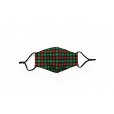 Children's Cloth Reusable Mask - Holiday Check