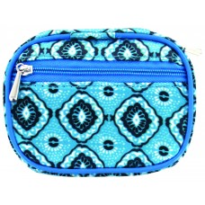 Fashion Smart™ Pill and Vitamin Clutch - Active Aqua