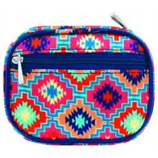 Fashion Smart™ Pill and Vitamin Clutch - Aztec Azure