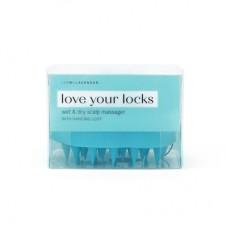 Lemon Lavender® Love Your Locks Wet & Dry Scalp Massager - Blue