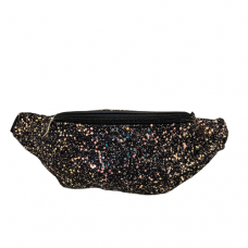 Sparkle Fanny Bag - Black