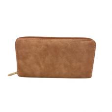 Zippered Large Wallet - Mauve
