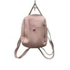 Pink Pebble Leatherette Mini Back Pack