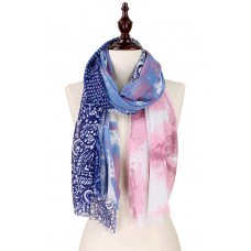 Abstract Pattern Collage Print Scarf