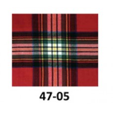 Cashmere Feel Scarf - Red Plaid