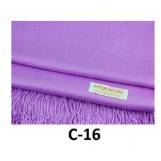 Solid Light Purple Pashmina Scarf