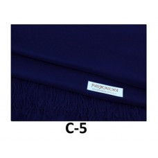 Solid Navy Pashmina Scarf