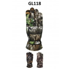 Men's Camouflaged Gloves