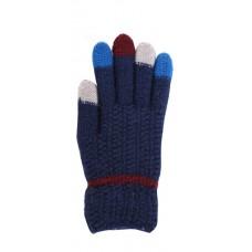 Children's Knit Gloves - Navy