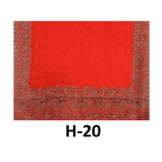 Paisley Pashmina - Bright Red
