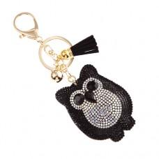 Owl Stone Keychain