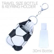 Sanitizer Holder with Keyring - Soccer