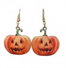 Jack-O'-Lantern Halloween Earrings