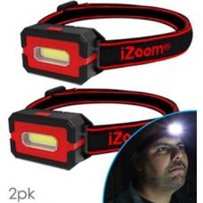 2 Pack COB Versa Beam Headlamp