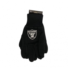 Officially Licensed Gloves - Las Vegas Raiders