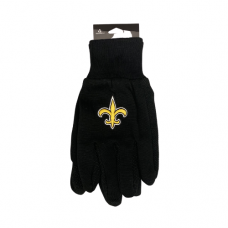 Officially Licensed Gloves - New Orleans Saints