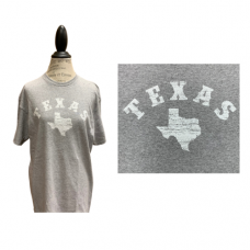 Men's Texas Light Gray T-Shirt - Large
