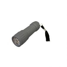 9 LED Flashlight - Gray