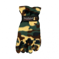 Camo Gloves - Tan